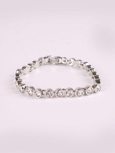 Rhodium Plating Crystal Bracelet